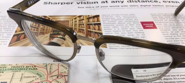 e60af19389 Progressive Lenses…Continued